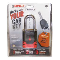 Bolt Lock Padlock for Ford, Lincoln Keys