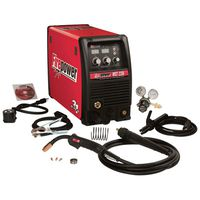 Multiprocess Welder with Multi-Voltage Plug