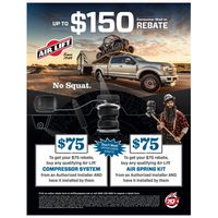 Air Lift Spring Consumer Rebate