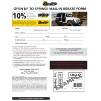 Bestop Open Up To Spring Rebate
