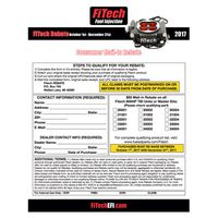 FiTech Fuel Injection Consumer Mail-In Rebate
