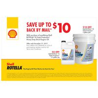 Shell Rotella T4 Triple Protection 2017 Fall Rebate