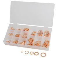 ATD Tools - 342 125 Piece Metric Copper Washer Assortment