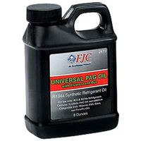 FJC - 2479 Universal A/C PAG Oil with Fluorescent Leak Detection Dye for Automotive Air Conditioning Systems