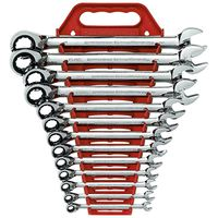 KD Tools - 9509 13-Piece SAE Reversible Combination GearWrench Set