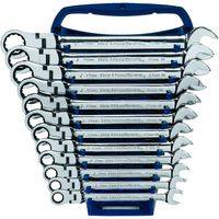 KD Tools - 9901 12-Piece Metric Flex Head Combination GearWrench Set