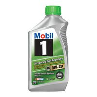Mobil 1 - 105891 Advanced Fuel Economy Synthetic Motor Oil