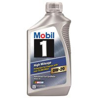 Mobil 1 - 122535 High Mileage Advanced Full Synthetic 0W-20 Motor Oil
