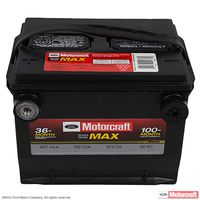 Motorcraft - BXT75A Motorcraft Tested Tough MAX Side Terminal Battery
