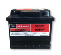 Motorcraft - BXT99RT4A Motorcraft Tested Tough MAX Side Terminal Vehicle Battery