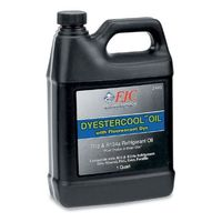 FJC - 2445 DyEstercool A/C System Refrigerant Oil with Fluorescent Leak Detection Dye, R12, R134a