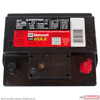 Motorcraft - BXT67R Motorcraft Tested Tough MAX Vehicle Battery