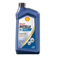 Shell ROTELLA - 550049479 T6 Extreme Temperature Full Synthetic Heavy Duty Diesel Motor Oil