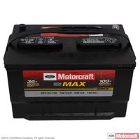 Motorcraft - BXT65750 Motorcraft Tested Tough MAX Vehicle Battery