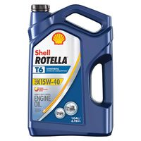Shell ROTELLA - 550050467 T6 Triple Protection Full Synthetic Lower Consumption Heavy Duty Diesel Motor Oil