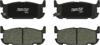 Perfect Stop - PC1002 PerfectStop Ceramic Disc Brake Pad Set