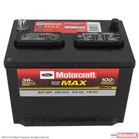 Motorcraft - BXT36R Motorcraft Tested Tough MAX Vehicle Battery