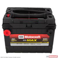 Motorcraft - BXT3478 Motorcraft Tested Tough MAX Dual Terminal Vehicle Battery