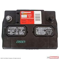 Motorcraft - BXT96R590 Motorcraft Tested Tough MAX Vehicle Battery