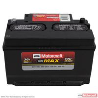 Motorcraft - BXT40R Motorcraft Tested Tough MAX Vehicle Battery