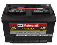 Motorcraft - BXT65650 Motorcraft Tested Tough MAX Vehicle Battery