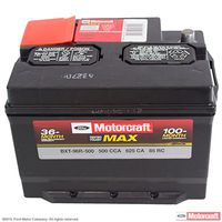 Motorcraft - BXT96R500 Motorcraft Tested Tough MAX Vehicle Battery