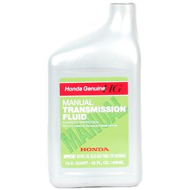 Honda Manual Transmission Fluid